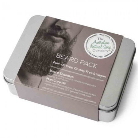 Australian Natural Soap Company- Beard Pack in Gift Box