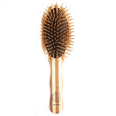 Bass Bamboo Large Hair Brush - Oval