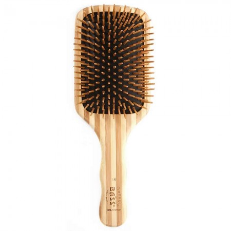 Bass Bamboo large hair brush square