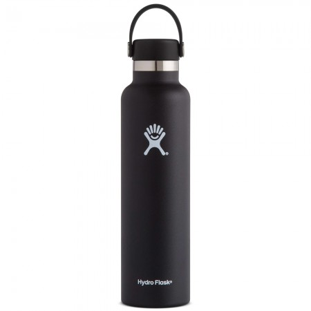 Hydro Flask Standard Mouth Bottle Flex Cap 709ml - Black