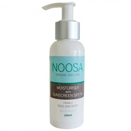 Noosa Organic Skin Care Moisturiser with Sunscreen SPF15 100ml