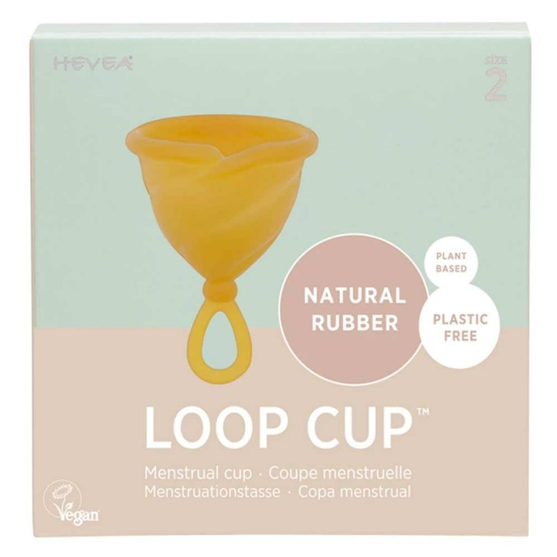 Hevea Loop Cup Natural Rubber Size 2