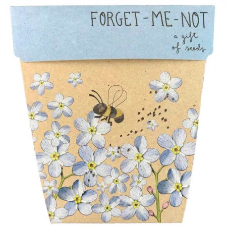 Sow 'n Sow Gift of Seeds Greeting Card - Forget-Me-Not