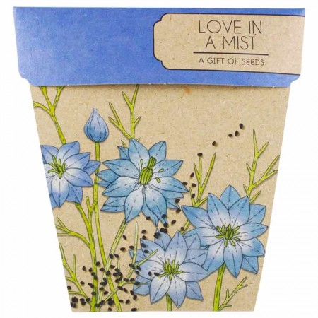 Sow 'n Sow Gift of Seeds Greeting Card - Love In A Mist