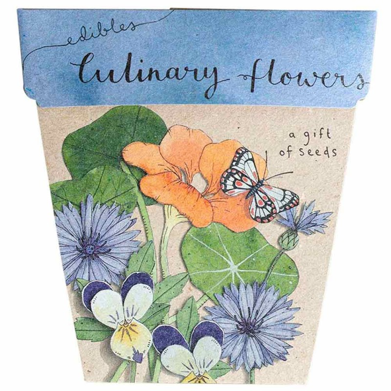 Sow 'n Sow Seed Card Culinary Flowers
