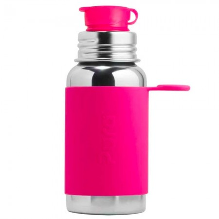 Pura Sport Stainless Steel Sports Bottle 550ml - Pink