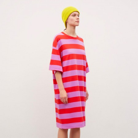 Kowtow T-Shirt Dress - Stripe