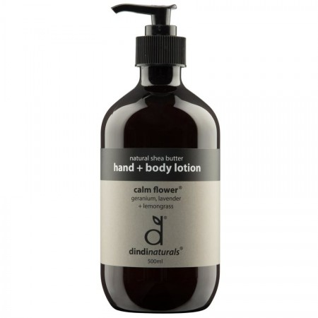 Dindi Naturals Hand & Body Lotion 500ml - Calm Flower