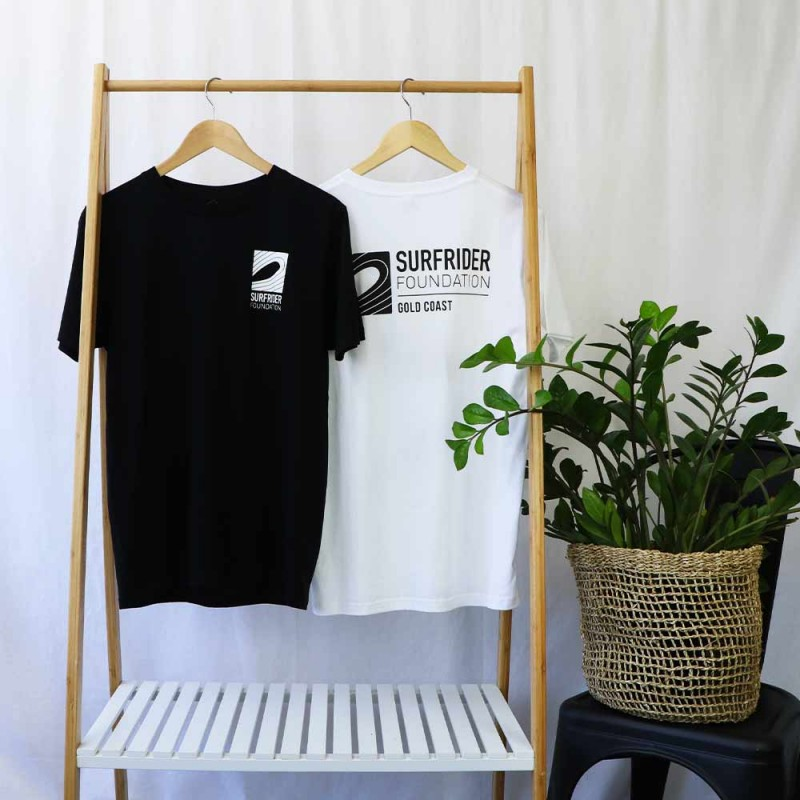 Surfrider Foundation Unisex Tee - Black