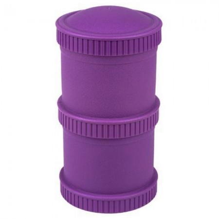 Re-Play Recycled Snack Stack Pods - Purple