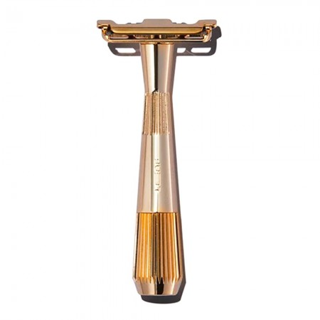 Leaf Shave Twig Reusable Single-Blade Razor (5pk Blades) - Gold