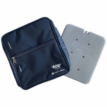 Fridge to Go Insulated Lunch Box Medium - Navy