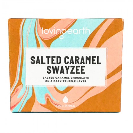 Loving Earth Salted Caramel Swayzee Raw Vegan Chocolate 45g