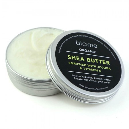 Organic Shea Butter Enriched with Jojoba and Vitamin E 80g