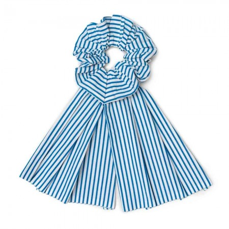 Kowtow Bow Scrunchie - Stripe
