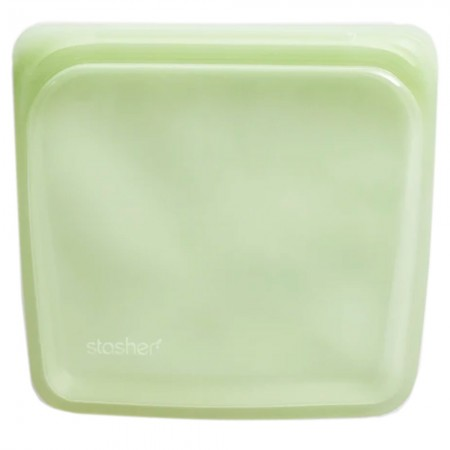Stasher Silicone Storage Bag Sandwich Size 450ml - Palm
