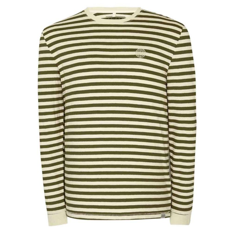 Komodo Two's Up LS Tee - Olive