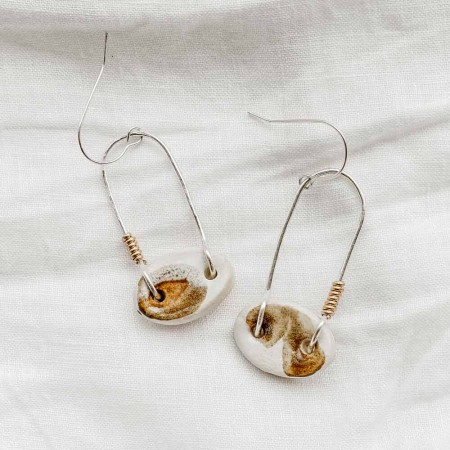 Ochre Seedling Earrings