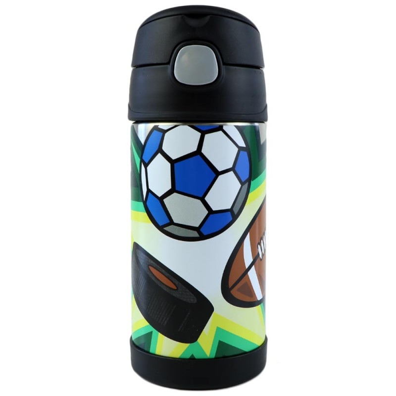 Thermos FUNtainer Insulated Stainless Steel Bottle 355ml - Sports