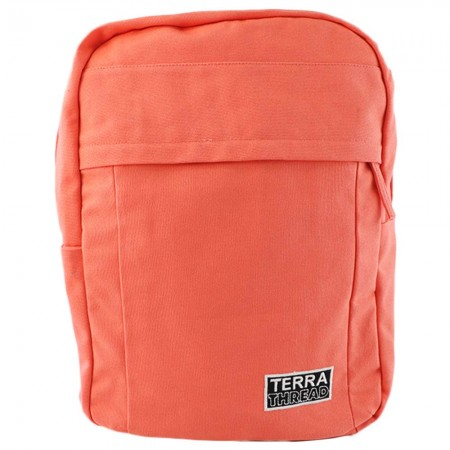 Terra Thread Organic Cotton Earth Backpack - Coral Pink