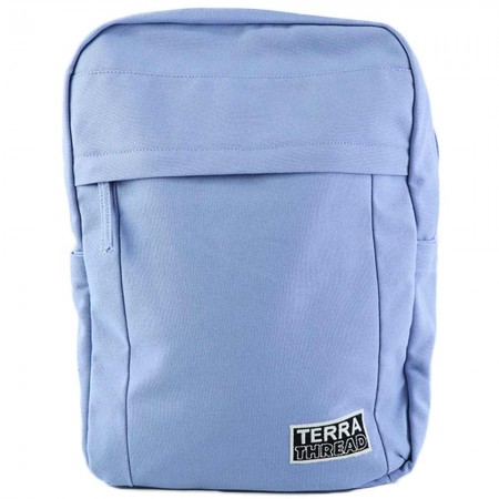 Terra Thread Organic Cotton Earth Backpack - Periwinkle Blue