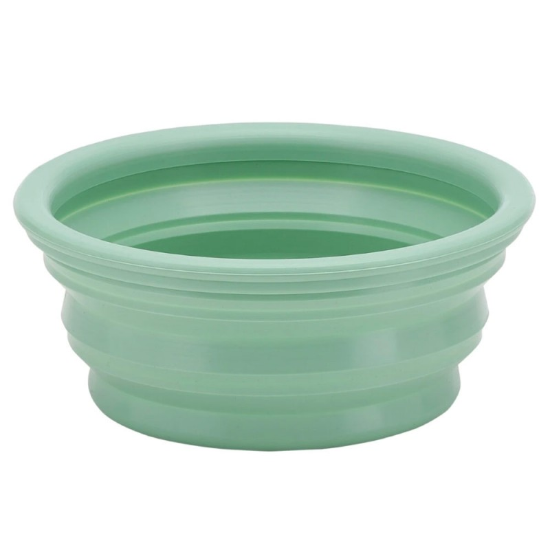 Hevea Puppy Collapsible Dog Bowl - Pale Mint