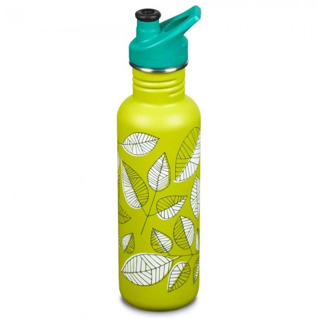 Klean Kanteen Limited Edition Classic Stainless Steel Water Bottle 27oz 800ml - Rustling Leaves