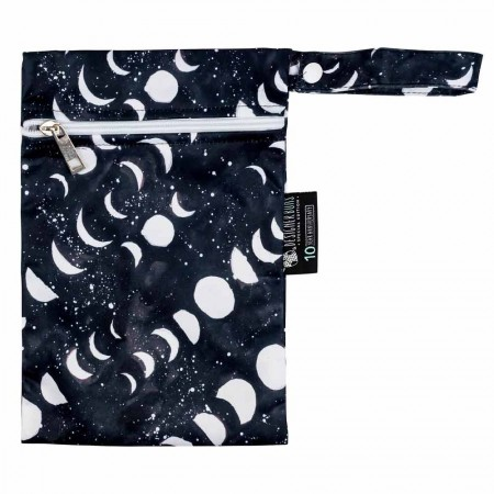 Designer Bums Mini Wet Bag - Midnight Moon