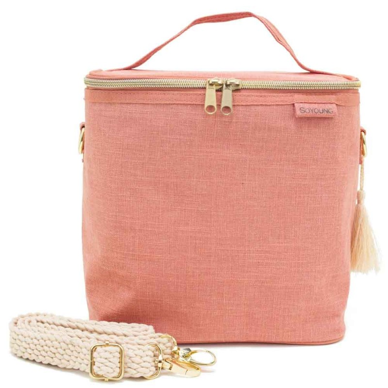 SoYoung Cooler Bag LGE Lunch Poche Linen Muted Clay