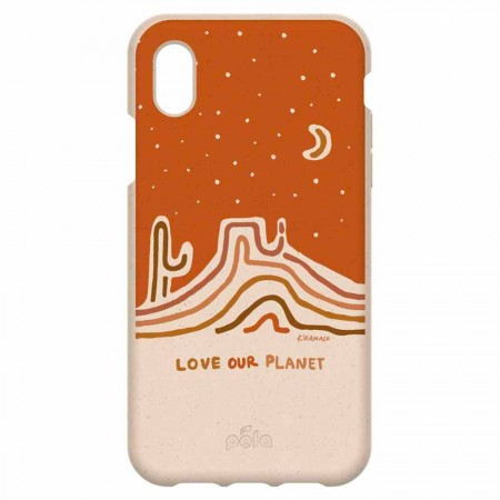Pela Eco-Friendly Phone Case iPhone XR - Seashell Love Our Planet
