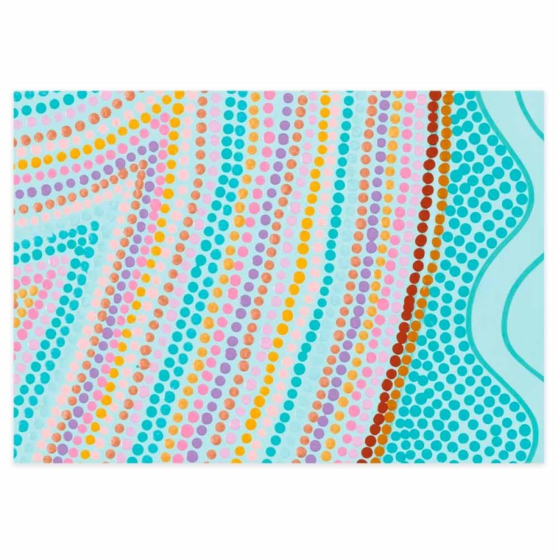 Earth Greetings Wrapping Paper - My Grandmother's Country III