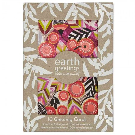 Earth Greetings Card 10 pk - Wild Australia
