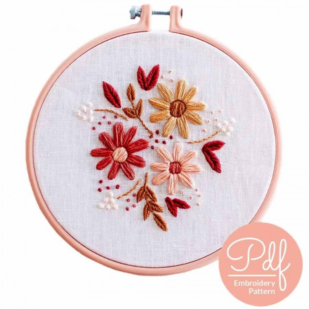 Brynn & Co. Embroidery Kit - Darling Daisy