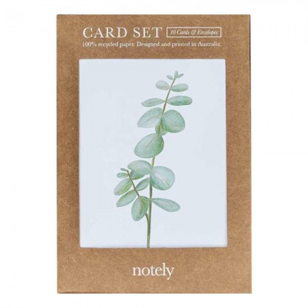 Notely Card Set 10pk - Botanical