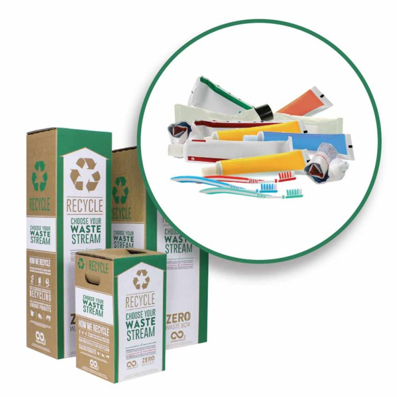 Zero Waste Recycle Bin - Oral Care Waste and Packaging