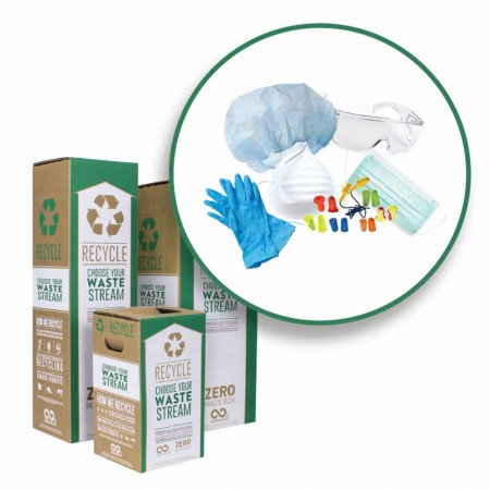 TerraCycle Zero Waste Recycle Bin - Safety Equipment & Protective Gear