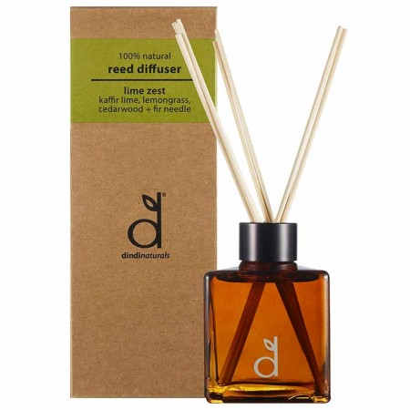 Dindi Naturals Reed Diffuser 140ml - Lime Zest