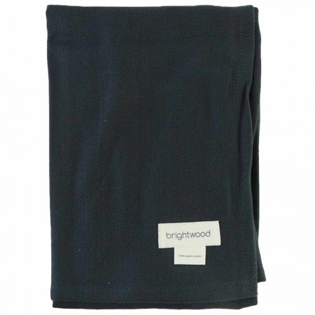 Brightwood Organic Cotton Giant Kitchen Towel - Charcoal