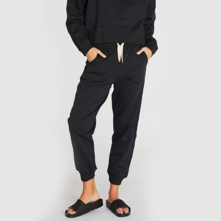 Cloth & Co. The Fleece Track Pants - Squid Ink