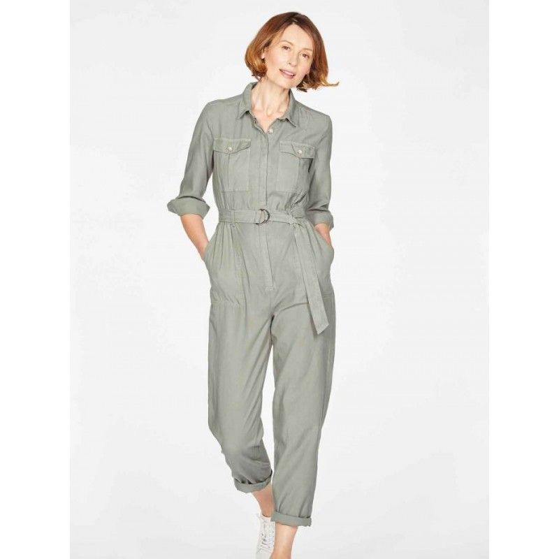 Thought Cora Boilersuit - Sage