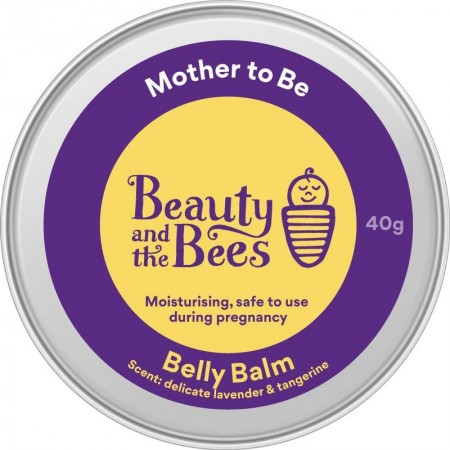 Beauty & the Bees Mother to Be Belly Balm 40g - Lavender & Tangerine
