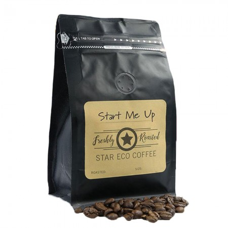 Organic Fairtrade Capsule Grind Coffee for Pod Star 250g - Start Me Up