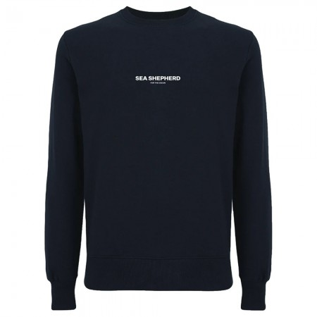 Sea Shepherd Stand Fast Unisex Embroidered Sweater - Black