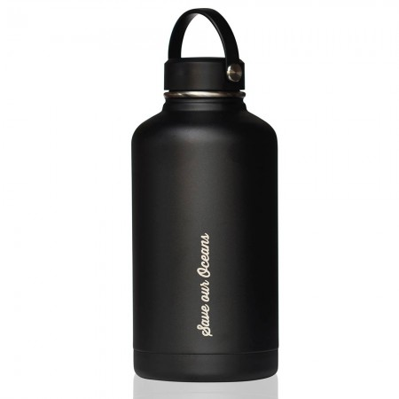 BBBYO BIGG Insulated Stainless Steel Bottle 1800ml 64oz - Black