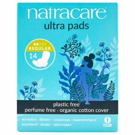 Natracare natural ultra pads (regular with wings)