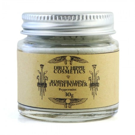 Dirty Hippie Cosmetics Remineralising Tooth Powder 30g - Peppermint
