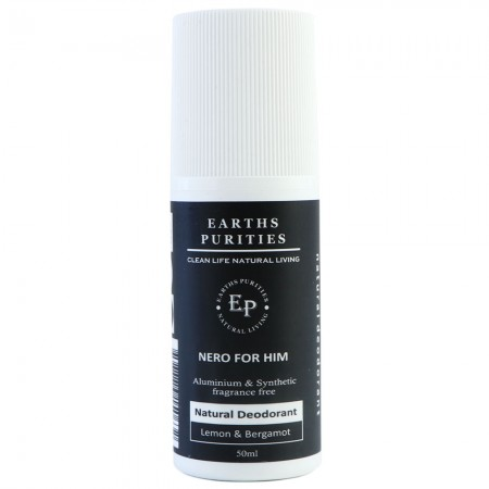 Earths Purities Roll-On Deodorant - Nero For Him