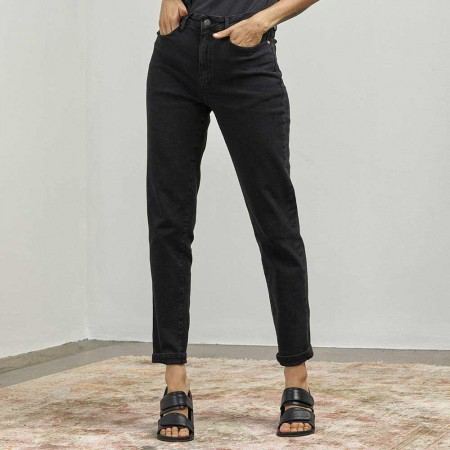 Outland Denim Lucy High Rise Jeans - Ink