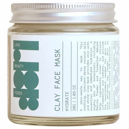Love Beauty Foods Clay Face Mask 30g - Hydrate