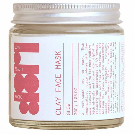 Love Beauty Foods Clay Face Mask 30g - Glow